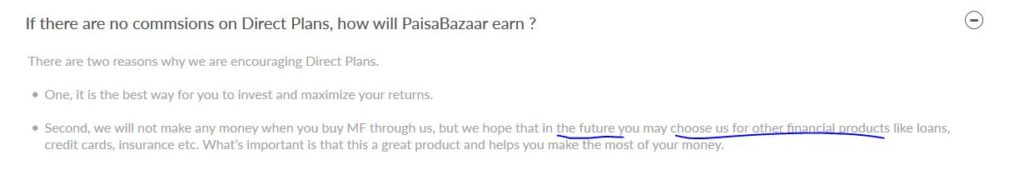 Why chose Paisa Bazaar for Direct Mutual Fund scheme