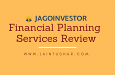 Jago Investor Financial Planning Services Review 2019