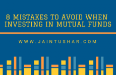 8 Mistakes to Avoid When Investing in Mutual Funds