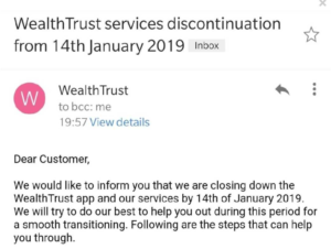Email_WealthTrust shutting down