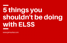 5 Things You Shouldn't Be Doing With Your ELSS