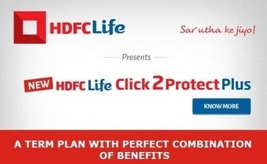 HDFC Click2protect plus term insurance plan