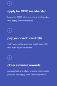 How cred app works?