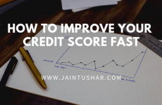 6 tips to improve your Credit Score fast