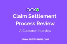 Acko Claim Settlement Process Review 2019 (An Interview)